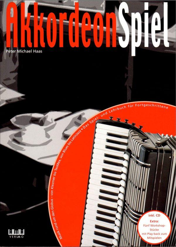 Titelbild Akkordeon Spiel von Peter M Haas