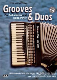 Titelbild Grooves und Duos von Peter M Haas