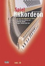"""Titelbild Spiel Akkordeon"""" von Peter M. Haas"""