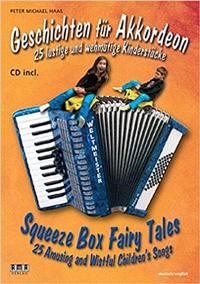 COVER Peter M. Haas Geschichten für Akkordeon
