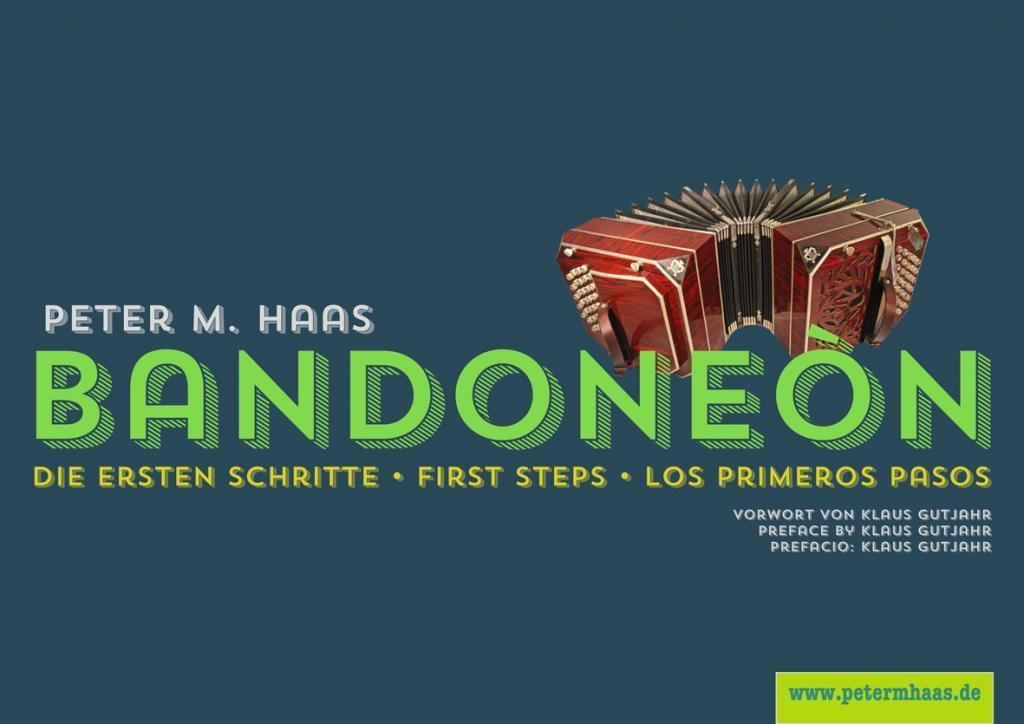 Titelgrafik Bandoneon von Peter M. Haas