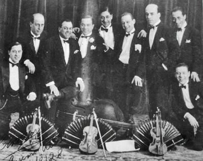 Francisco Canaros Tango-Orchester 1928
