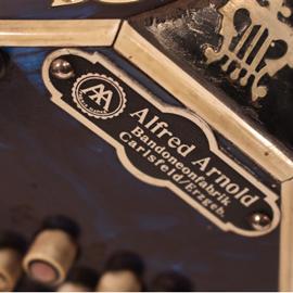 Detailfoto Arnold-Akkordeon
