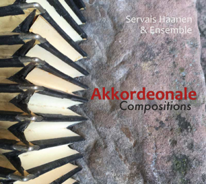 "CD Cover ""Akkordeonale Compositions"" von Servais Haanen"
