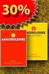 Bild für Angebot Akkordlehre zwei Bände mit 30% Rabatt