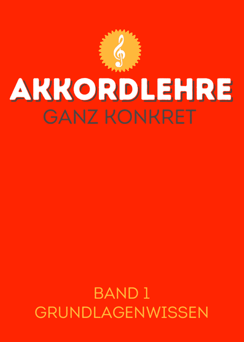 Titelbild Akkordlehre Band 1