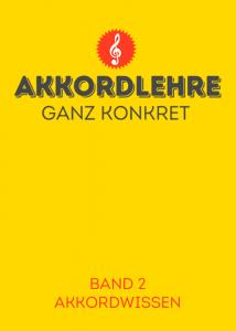 Titelbild Akkordlehre Band 2
